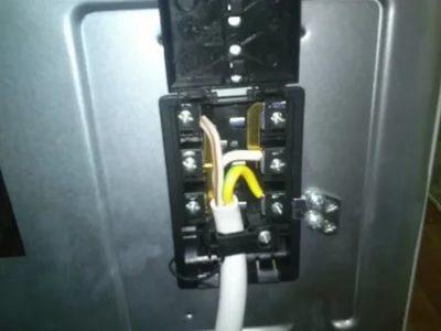 Как подключить электроплиту Hansa к электрической сети