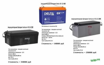 Как обозначается гелевый аккумулятор