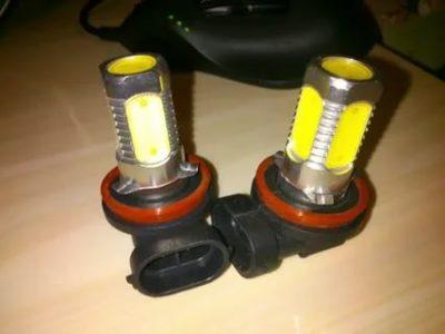 Можно ли в противотуманки поставить светодиодные лампы