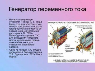 Что такое генератор электрического тока