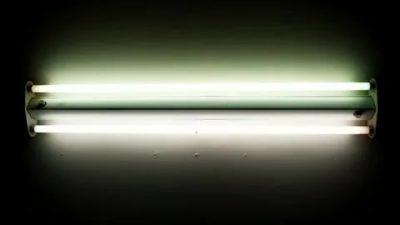 Что в лампах дневного света