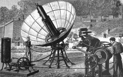 Кто изобрел первую солнечную батарею