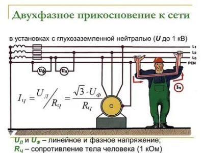 Что больше линейное или фазное напряжение