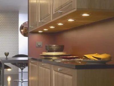 Как правильно расположить светильники на кухне
