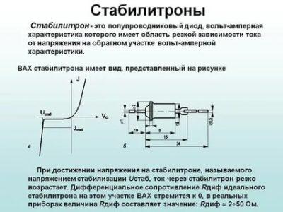 Как работает диод Зенера