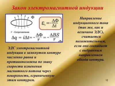 Чему равна Электромагнитная индукция