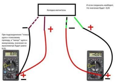 Как проверить провода на плюс и минус