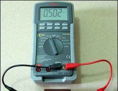Как проверить состояние конденсатора