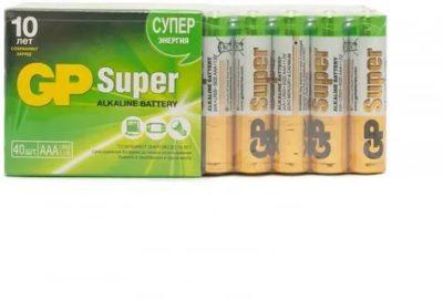 Можно ли заряжать батарейки GP Super