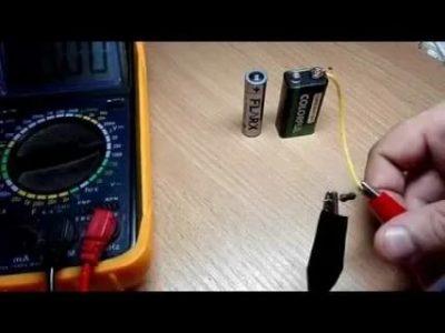 Как правильно заряжать аккумулятор крона