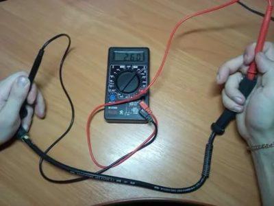 Как проверить длинные провода