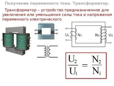 Почему трансформатор может работать только на переменном токе