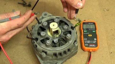 Как проверить обмотку автомобильного генератора