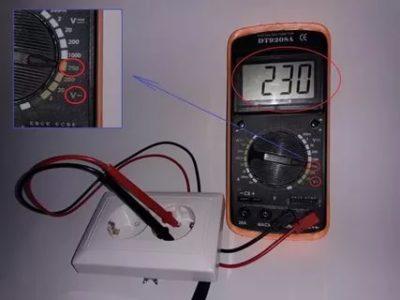 Как определить ноль и заземление мультиметром