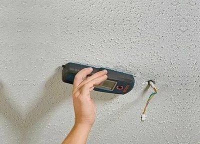 Как проверить есть ли провода в стене