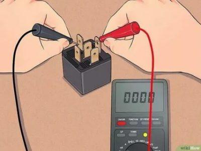 Как проверить реле с помощью мультиметра