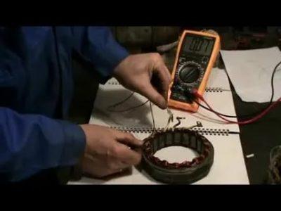 Как определить межвитковое замыкание в обмотке генератора