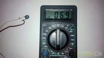 Как проверить терморезистор тестером