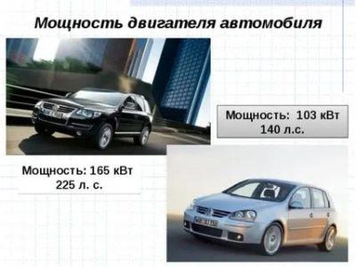 Что такое мощность квт в автомобиле