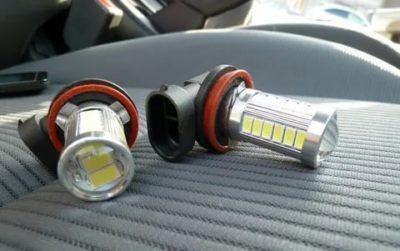 Можно ли ставить светодиодные лампы в противотуманки