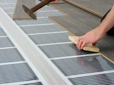 Как сделать электрический теплый пол под ламинат