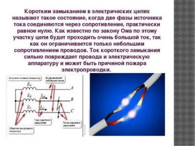 В чем опасность короткого замыкания в электрической цепи