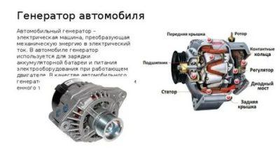 Какой ток вырабатывает генератор автомобиля